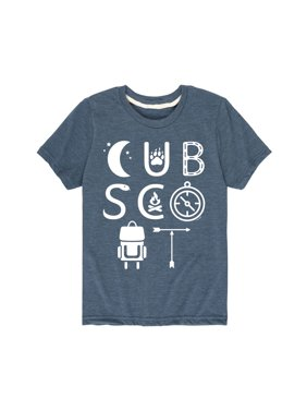 Boy Scouts of America Cub Scout Icons - Youth Short Sleeve Tee