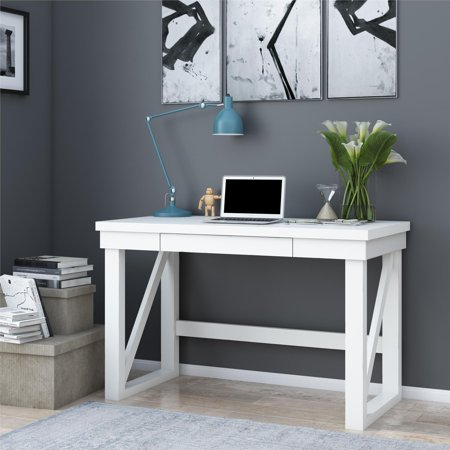 Superb Ameriwood Home Wheaton Computer Desk White Home Interior And Landscaping Ologienasavecom