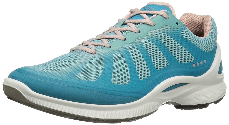 ECCO Women's Biom Fjuel Racer Fashion Sneaker, Capri M Breeze/Aquatic/Rose Dust, 36 EU/5-5.5 M Capri US 541ce8