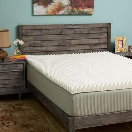 Slumber Solutions Highloft Eco 2 Inch Memory Foam Mattress