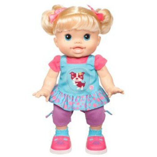Baby Alive Baby Wanna Walk Doll, Blonde