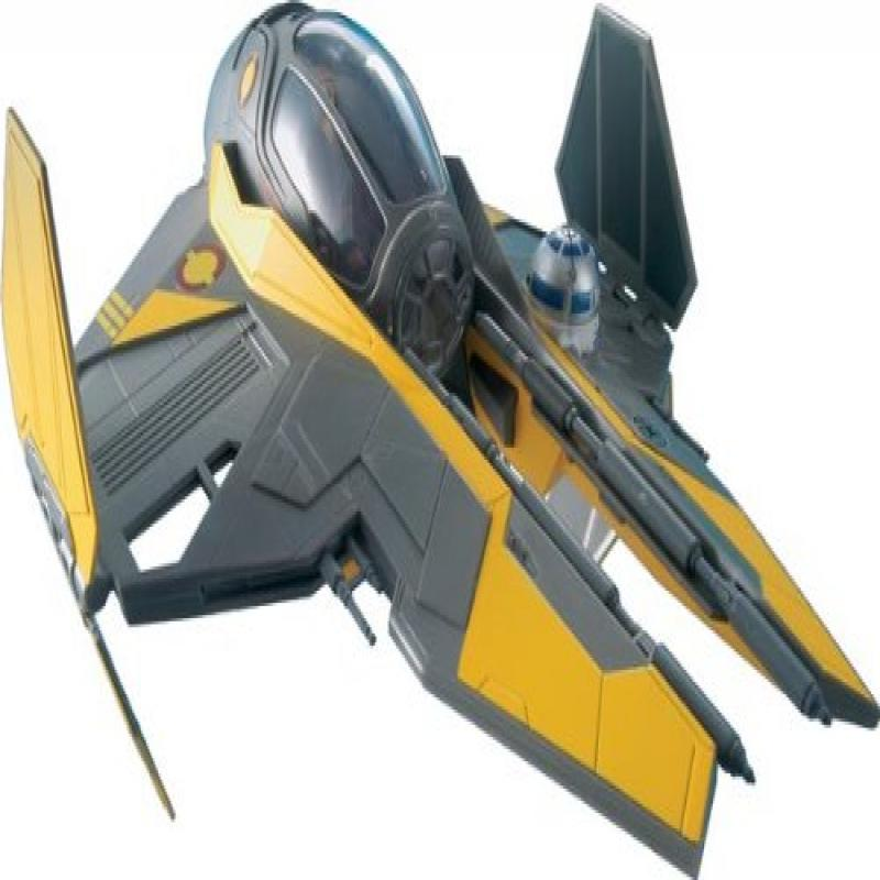 Revell Anakin's Jedi Starfighter Plastic Spacecraft Model Building Kit by COLUMBUS CLOSEOUTS