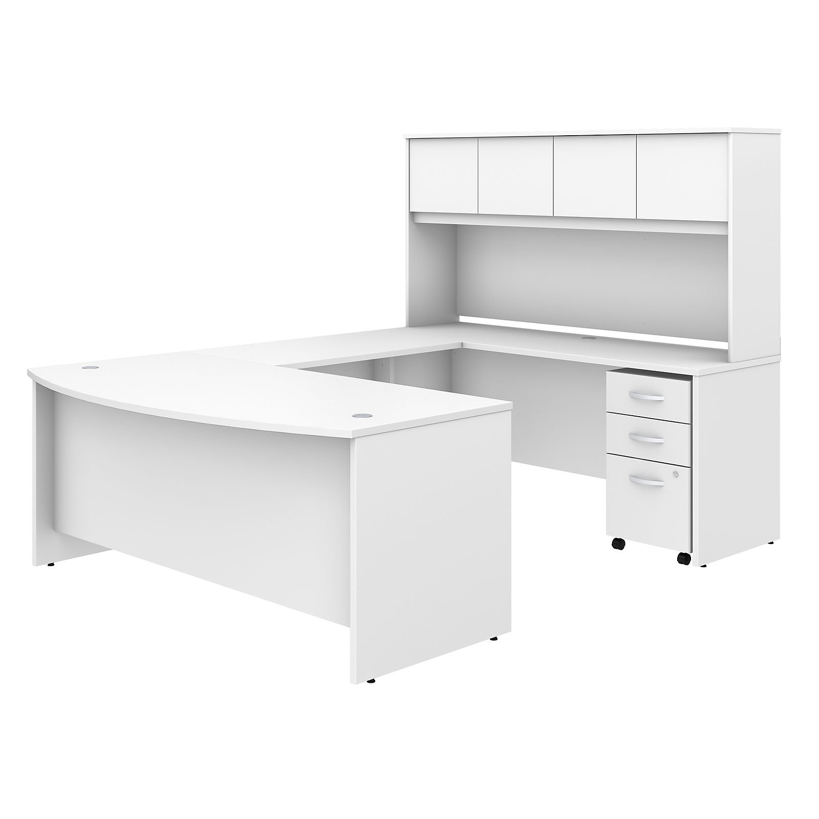 Bush Business Furniture Studio C 72 In U Shaped Computer Desk With