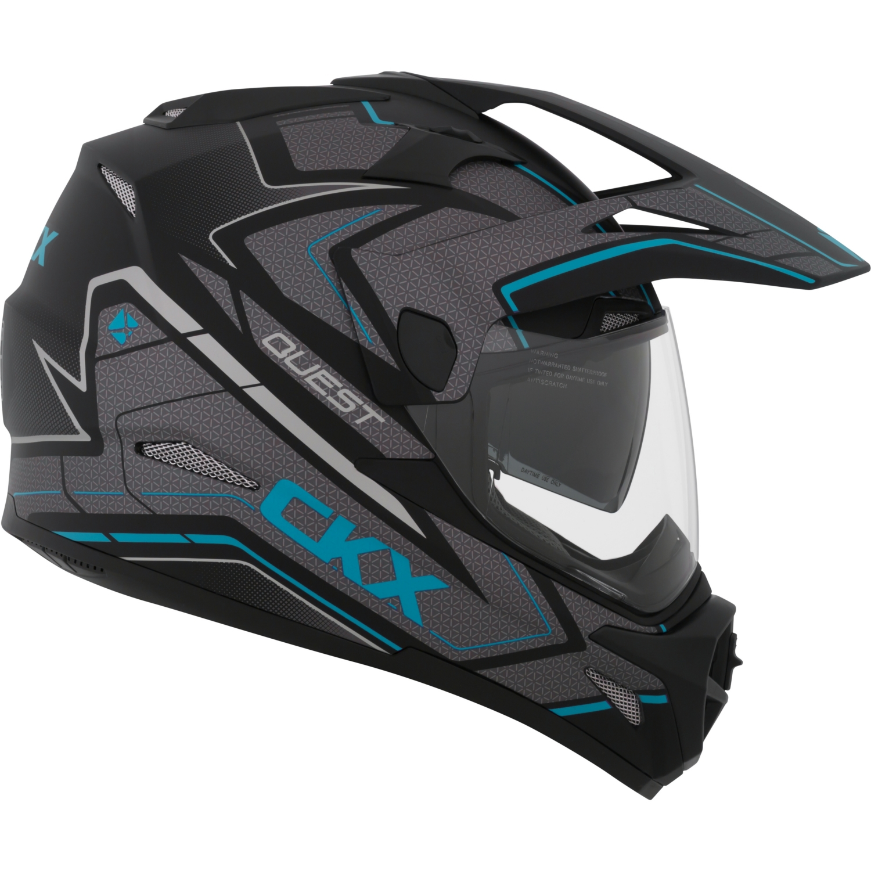 CKX Maze Quest RSV Off-Road Helmet, Summer Single Shield