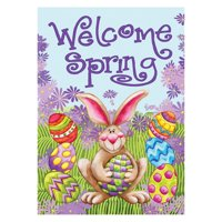 Toland Home Garden Welcome Spring Double Sided Flag