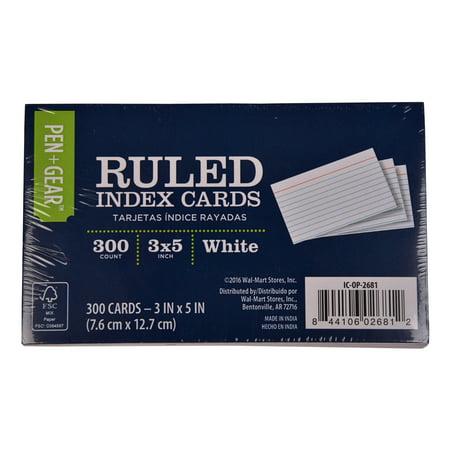 300 Index Cards Index Cards Walmart
