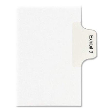 Legal Index Exhibit Dividers (Avery Legal Exhibit Numeric Index Divider 82141)