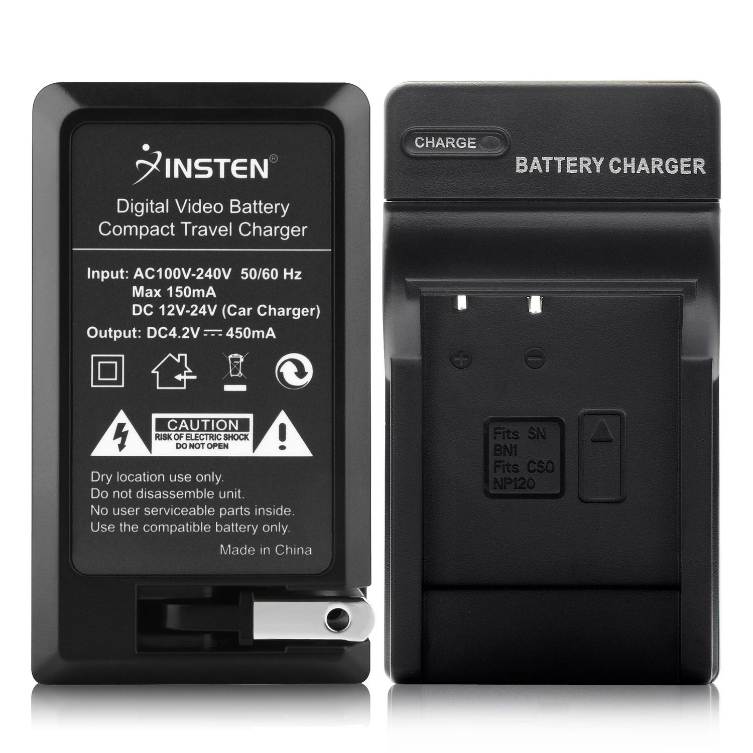 Insten Compact Battery Charger Set For Sony NP-BN1