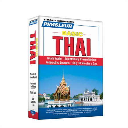 Pimsleur Thai Basic Course - Level 1 Lessons 1-10 CD : Learn to Speak and Understand Thai with Pimsleur Language (Part Learning Cd)