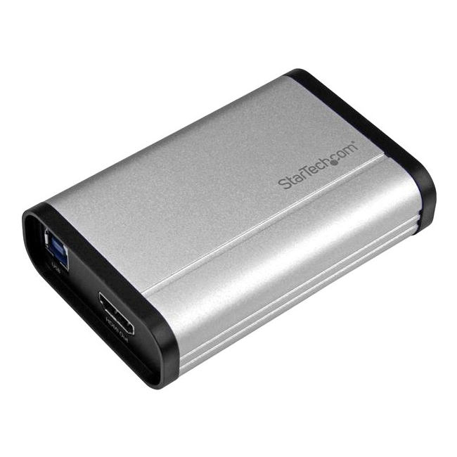 StarTech USB 3.0 Capture Device for High-Performance HDMI Video