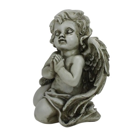 - Northlight Heavenly Gardens Praying Cherub Angel Outdoor Garden Statue