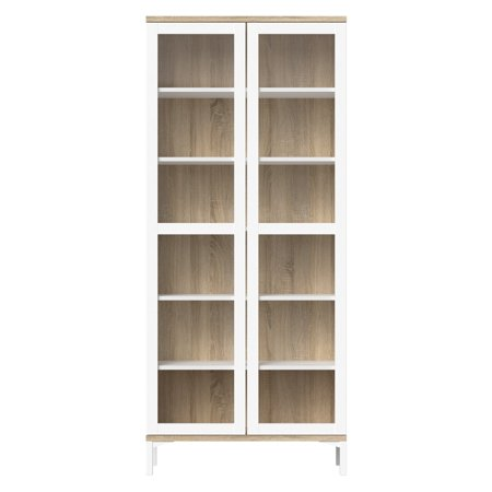 Cabinet Manufacturers China (Tvilum Aberdeen 6.75 ft. 2 Door China Cabinet)
