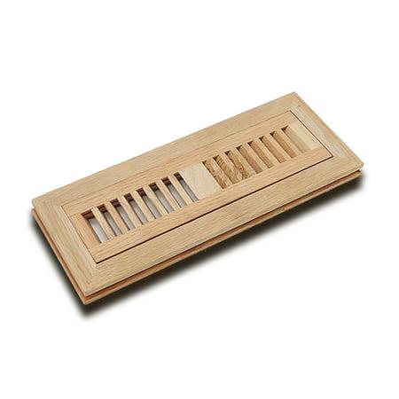 Welland 2 Quot X 10 Quot Wood Vent Floor Register Flush Mount