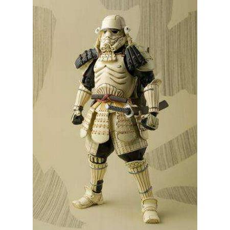 Star Wars Meisho Movie Realization Teppo Ashigaru Sandtrooper Action Figure  Black Pauldron