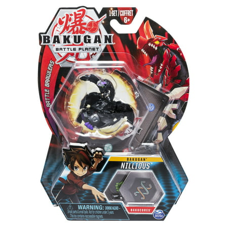 Bakugan, Nillious, 2-inch Tall Collectible Action Figure and Trading Card, for Ages 6 and Up
