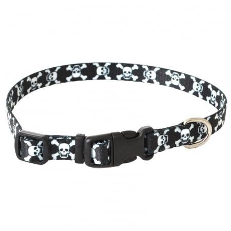 Pet Attire Styles Adjustable Dog Collar Skulls - 8