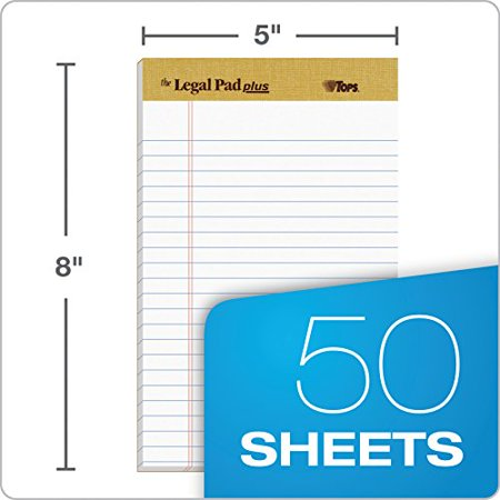 Tops Binding Letr-Trim Perf. Writing Pads - image 2 de 3