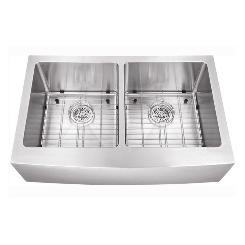 Schon SCAP505016 Double Basin Undermount Kitchen Sink