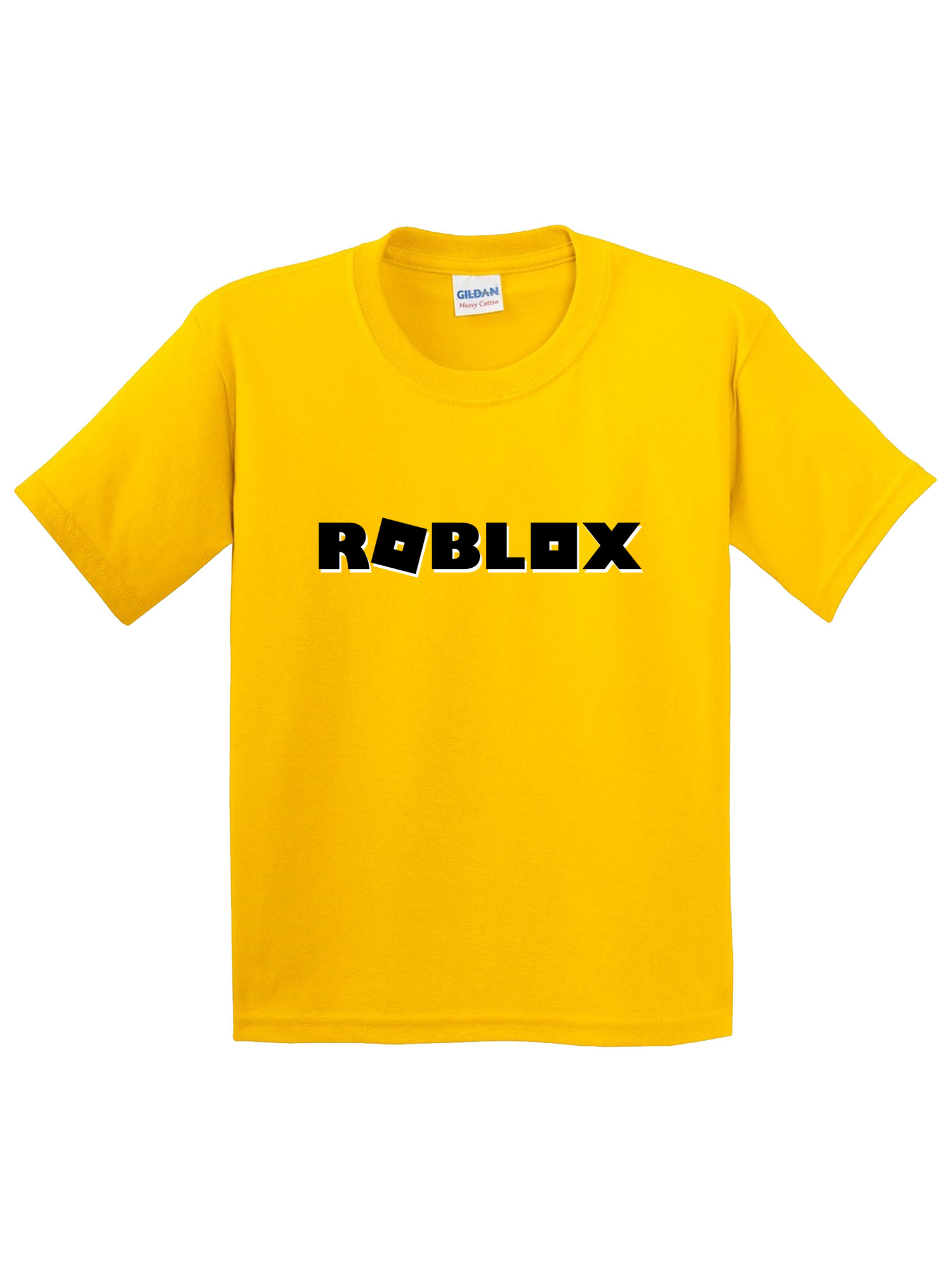 New Way New Way 1168 Youth T Shirt Roblox Block Logo Game