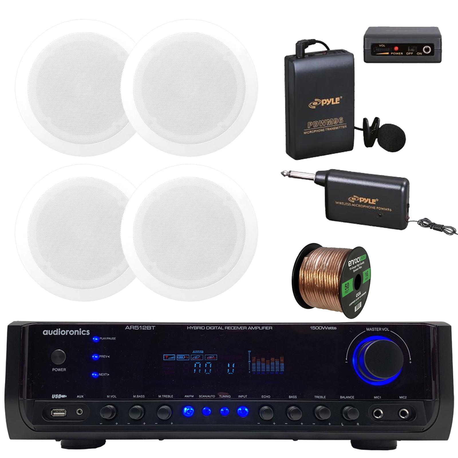 Audioronics 1500 Watt Hybrid Digital Stereo Receiver