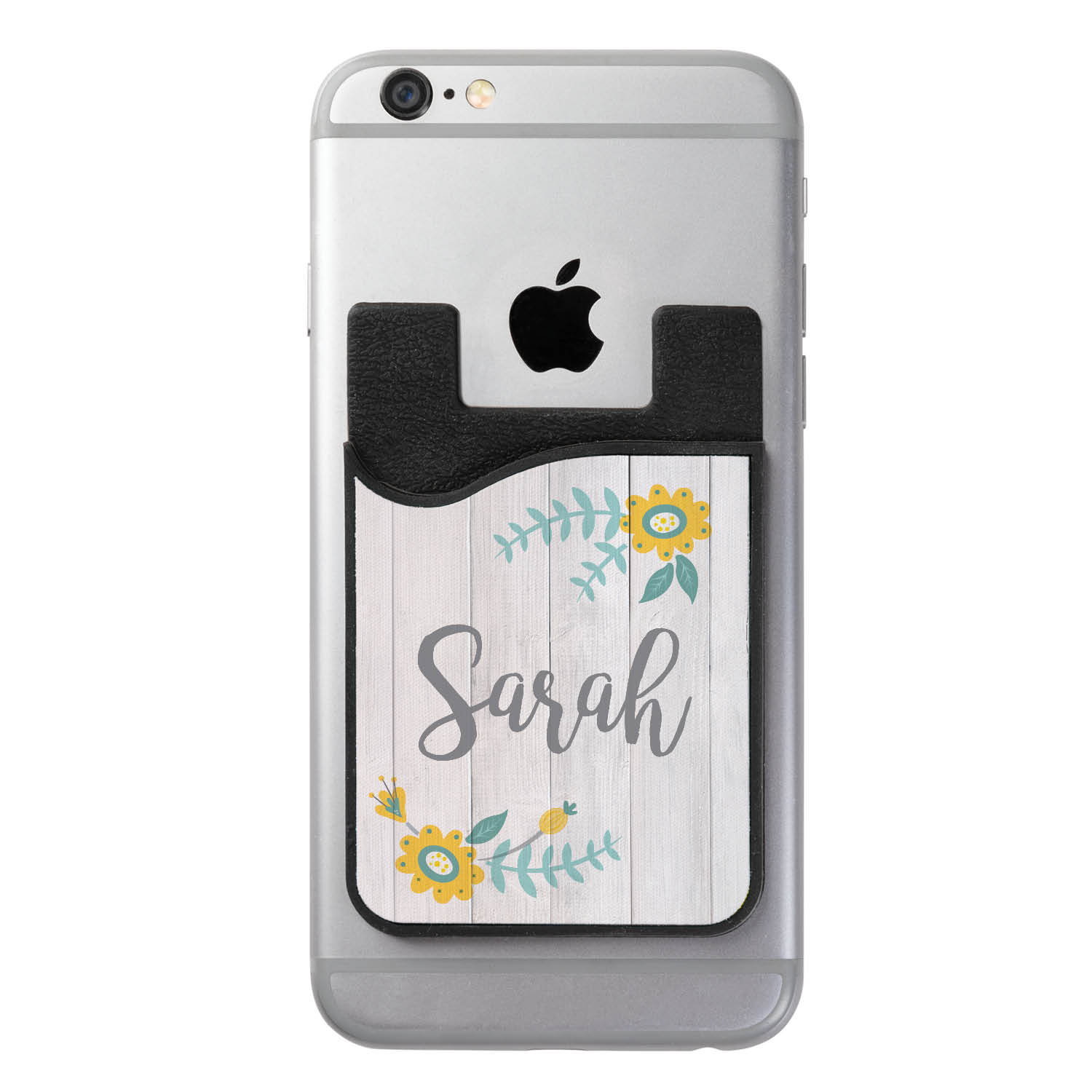 Her Name Personalized Phone Card Wallet Caddy