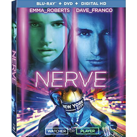 Nerve  Blu Ray   Dvd