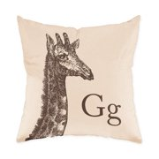 Checkerboard, Ltd Giraffe Throw Pillow