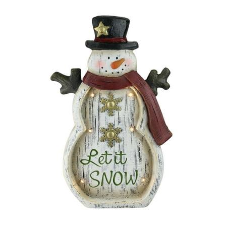 Spinning Snowflake Snowman (15