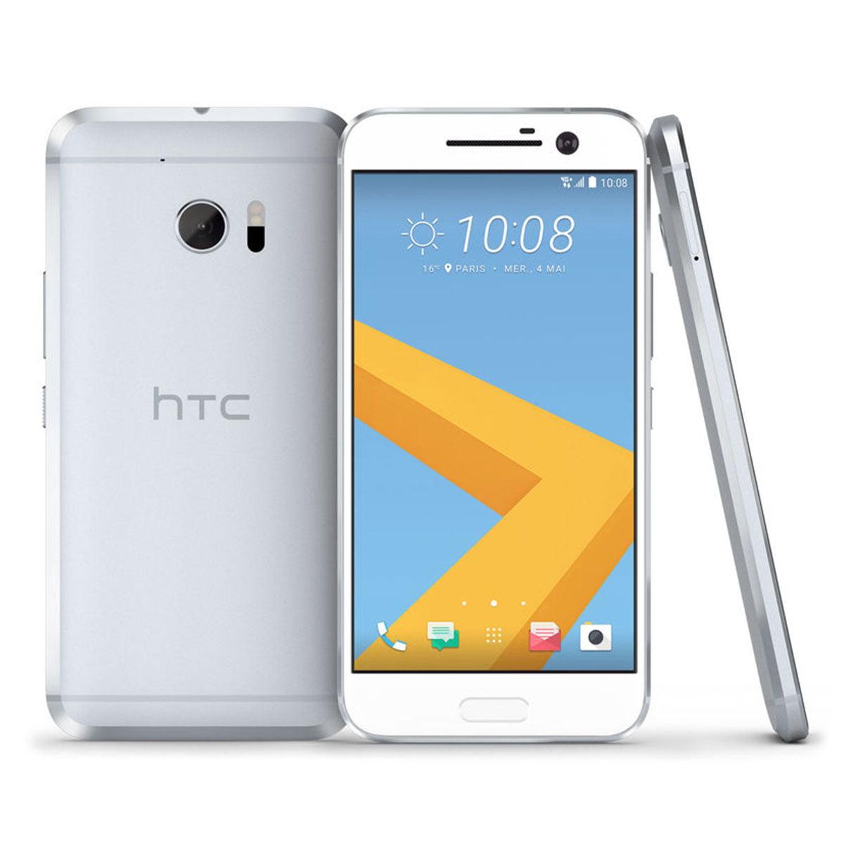 HTC One M10 6545L Glacier Silver 32GB - Verizon and GSM Unlocked (Refurbished)