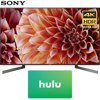 Sony XBR55X900F 55-Inch 4K Ultra HD Smart LED TV (2018 Model) with Hulu $50 Gift Card E1SNXBR55X900F XBR55X900F 55-Inch 4K Ultra HD Smart LED TV (2018 Model)AC Power CordBatteriesIR BlasterOperating InstructionsQuick Setup GuideTable Top StandVoice Remote ControlBundle Includes:Sony XBR55X900F 55-Inch 4K Ultra HD Smart LED TV (2018 Model)Netflix $50 Gift Card1 Year Extended Warranty