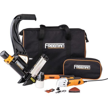 Freeman P50MTCK Flooring Nailer and Oscillating Multi-Tool Cutter Combo Kit