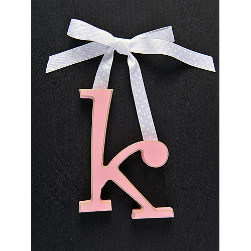 Forest Creations Letter K Hanging Initial