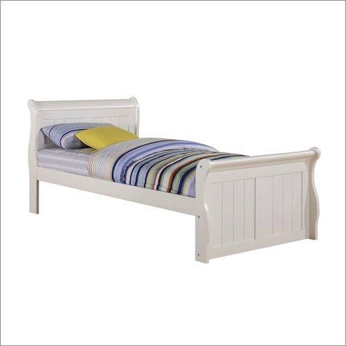 FULL SLEIGH BED - WHITE
