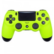 Neon Yellow Ps4 Rapid Fire Custom Modded Controller 40 Mods