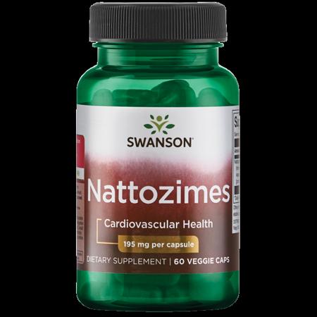 Swanson Nattozimes 195 mg 60 Veg Caps