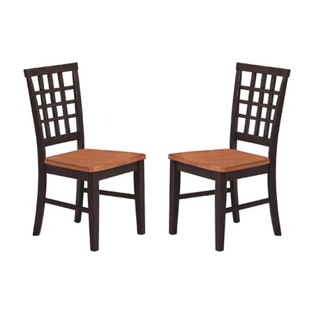 Imagio Home by Intercon Arlington Lattice Back Side Chair (Set of 2) by
