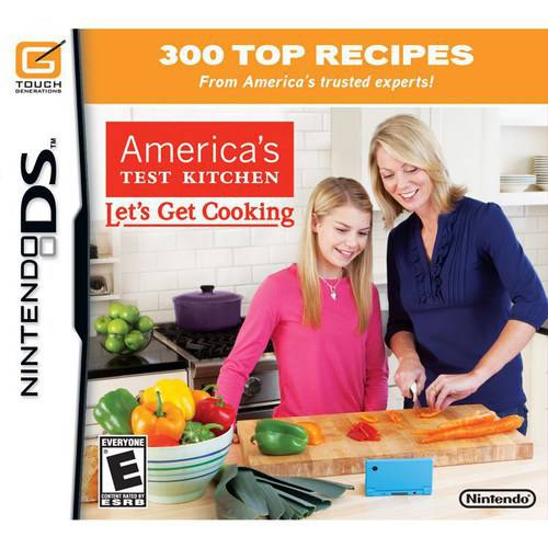 America'S Test Kitchen: Let'S Get Cooking (DS) - Pre-Owned