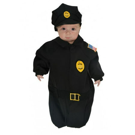 Baby Police Costume (Police Bunting Baby Halloween)