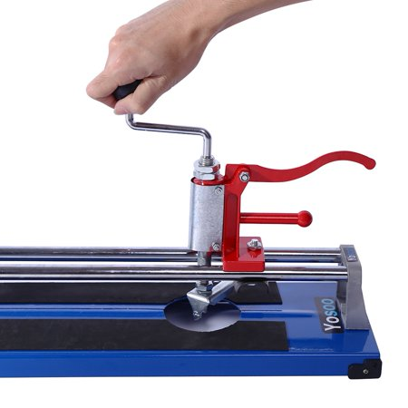 Ejoyous Portable 600MM Manual Tile Cutter Ceramic Porcelain Floor Wall Cutting Machine Hand Tools , Hand Tile Cutter, Porcelain Cutting (Best Manual Tile Cutter For Porcelain)