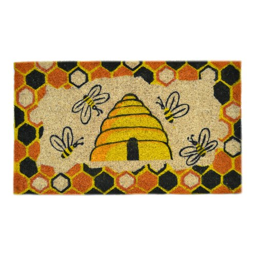 Imports Decor Creel Beehive Doormat