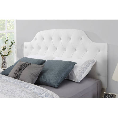 Dorel Living Lyric Button Tufted Faux Leather Headboard, Multiple Colors by Dorel Asia