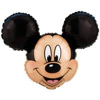 """Disney Mickey Mouse Head Jumbo 27"""" Foil Balloon"""