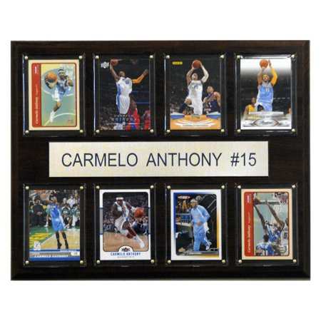 C&I Collectables NBA 12x15 Carmelo Anthony Denver Nuggets 8-Card (Denver Nuggets Framed Wall)