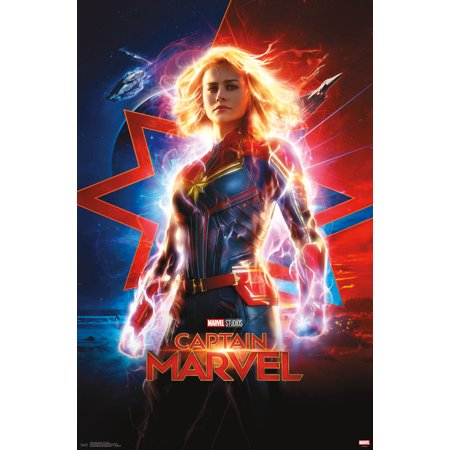 Captain Marvel - One Sheet Poster and Clip Bundle Captain Jack Sparrow Poster