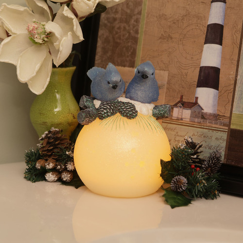 Flipo Group Limited Winter Woodlands Wax Flameless Candle