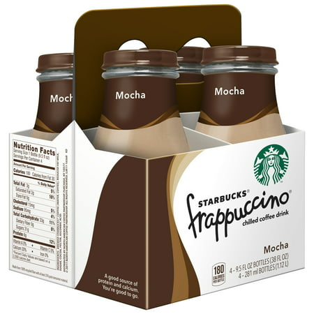 (24 Bottles) Starbucks Frappuccino Coffee Drink, Mocha, 9.5 oz Bottles - Starbucks Frappuccino Halloween