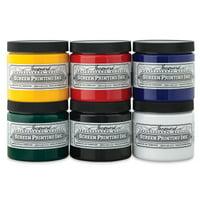 Jacquard Professional Screen Printing Ink, 4 oz., Process Cyan