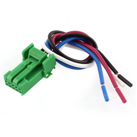 Car 4 Wired Fog Light Switch Socket Cable Wire Wiring