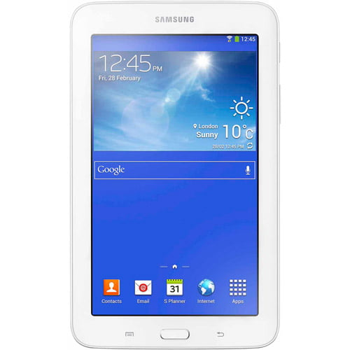 "Samsung Galaxy Tab 3 Lite 7"" Tablet 8GB Memory Refurbished by Samsung"