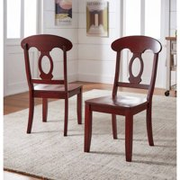Weston Home Farmhouse Dining Chair with Napoleon Back